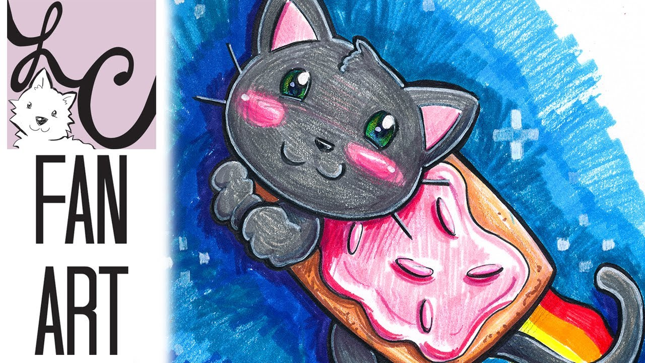 Nyan Cat Crayola Marker Coloring Cheap Challenge