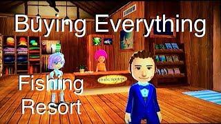 Buying Everything - Fishing Resort Wii