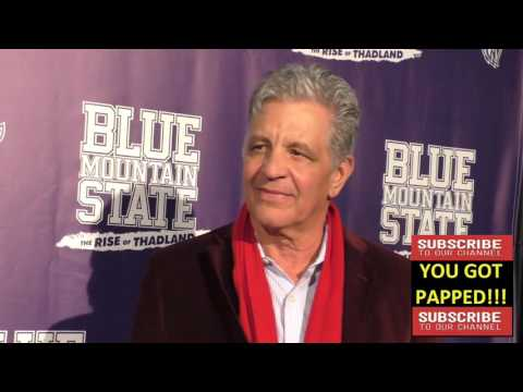 Ed Marinaro arriving to the Blue Mountain State The Rise Of Thadland Premiere at Fonda Theatre in Ho