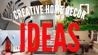 5 Creative Home Decor ideas