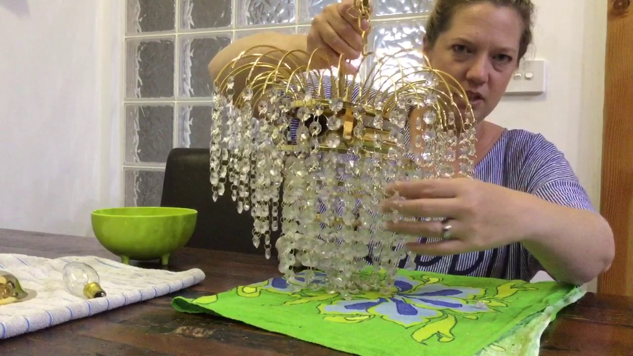 How to clean a chandelier youtube how to clean a chandelier arubaitofo Gallery