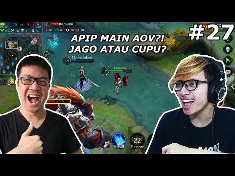 AFIF YULISTIAN MAIN AOV?! JAGO GAK NIH? - Arena of Valor (Indonesia)