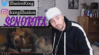 SHE KEEPS RUNNING BACK!! Shawn Mendes & Camila Cabello - Senorita | REACTION
