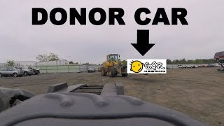 Getting a Donor car from Copart