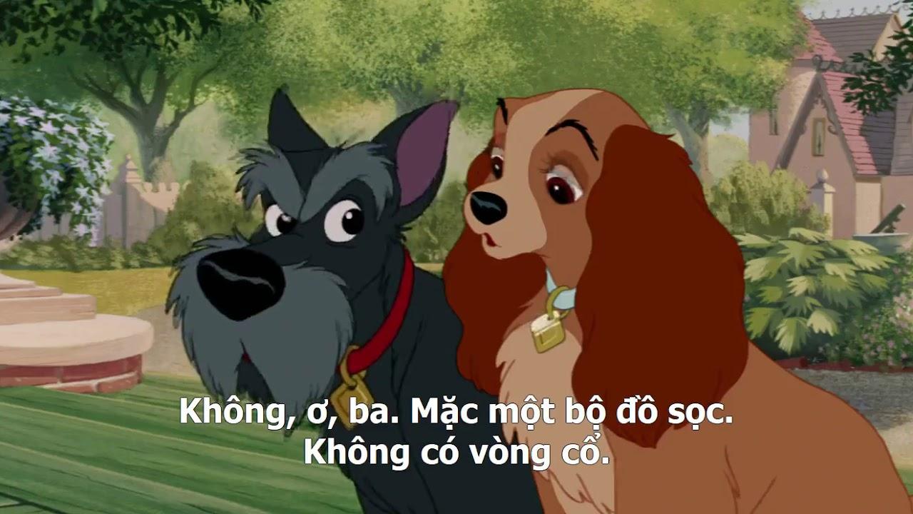 Phim Hoạt Hình Tiểu Thư Và Gã Lang Thang 1995 – Vietsub và Thuyết Minh