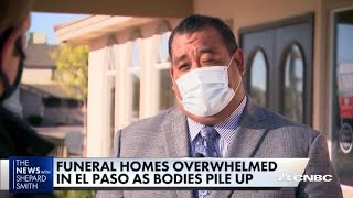 El Paso running out of morgue space due to Covid-19 deaths