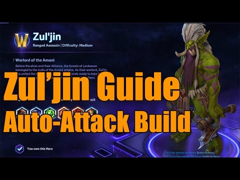 Heroes of the Storm - Zul'Jin Auto-Attack Build