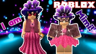 Je suis Mimi! Roblox DANCE VOTRE BLOX OFF Miss Peach Summer Lily Costume! 🌷