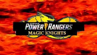 Saban's Power Rangers Magic Knights - New Logo 2019