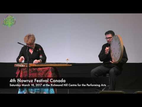 Maestro Shahla Nikfal  Playing Solo 4th Nowruz Festival Canada Plaza Suite Room