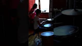 Duo flûte traversière-batterie