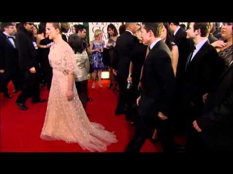 Scarlett Johanson Fashion Golden Globes 2011