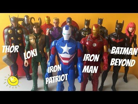 Superhéroes Batman Beyond Loki Iron Patriot Iron Man | Kidsplace Town