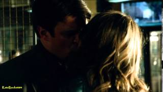 "Castle 6x22 ""Veritas"" Caskett Kiss and Tape (HD)"