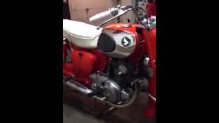 1968 Honda 305 Dream Restoration
