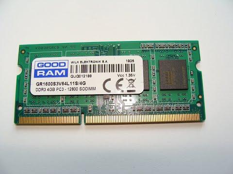 Оперативна пам'ять Goodram SODIMM DDR3L-1600 4096MB PC3-12800 (GR1600S3V64L11S/4G)