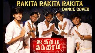 Rakita Rakita Rakita | Dance cover  | Jagame  Thandhiram | Dhanush | Santhosh Narayanan | Surya MJ