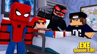 Minecraft EXE 2.0 - CAN SPIDERMAN & JACK FINALLY CURE ROPO .EXE?!!