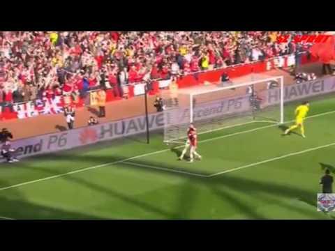 Арсенал 4:1 Эвертон.ОБЗОР МАТЧА, 08.03.2014
