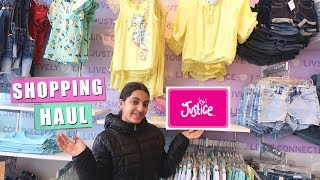 Shopping at Justice with my mom vlog