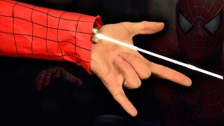 How to Make a SpiderMan Web Shooter Out of Household Items