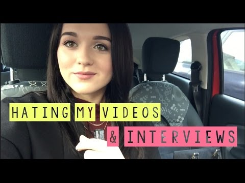 VLOG // Hating My Videos & Interviews