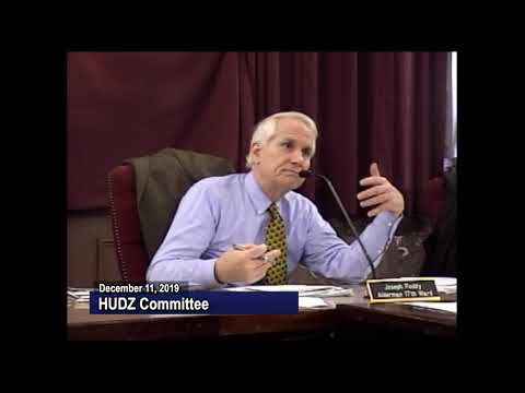 Housing, Urban Development, and Zoning Committee - December 11,  2019