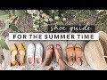 Summer Shoe Guide: Practical and Classic Shoes to Get You Through Summer | by Erin Elizabeth