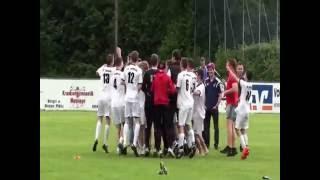 JFG Osser - Hohenbogen vs. FC Bad Kötzting (04.06.16 ; 5:3 n.E.)