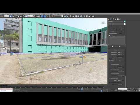 Image based modeling with 3dsMax Palazzo M Part3