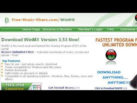 WINMX MUSIC TÉLÉCHARGER