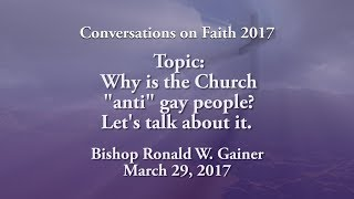 """Why is the Church """"anti"""" gay people? Lets talk about it."""