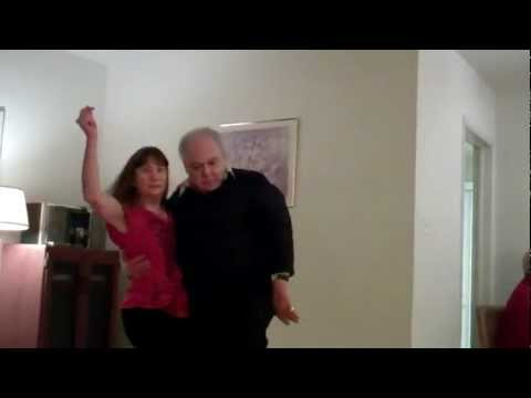 Norm & Suzanne Dancing West Coast Swing -