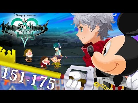 [NA] #07 - Kingdom Hearts Unchained χ - Quests 151 — 175 - Missing Dwarfs
