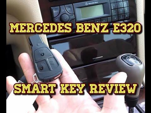 Mercedes Benz E320 - Smart Key Review, Tutorial - YouTube