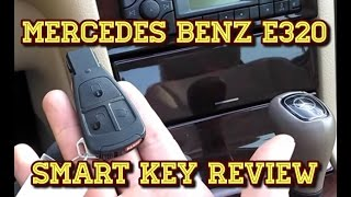 mercedes benz e320 smart key review tutorial
