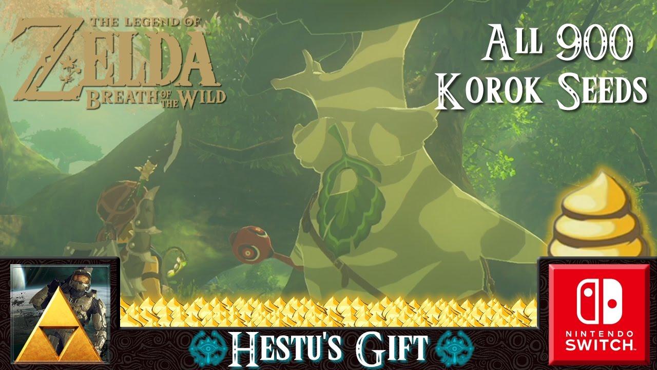 The Legend of Zelda: Breath of the Wild (Hestu's Gift) - YouTube