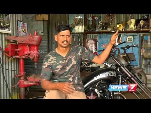 Amazing styles of bikes from this Kovai mechanic | News7 Tamil