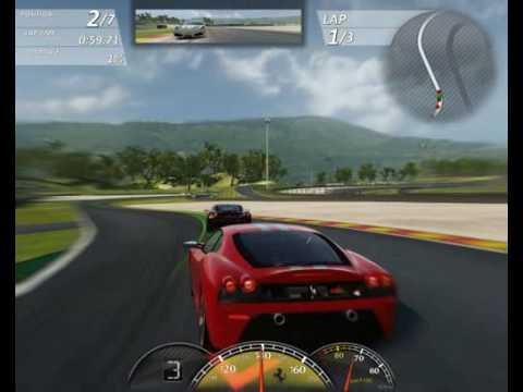 Ferrari Virtual Race Free Racing Game From Ferrari Italy Youtube