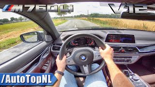2020 BMW 7 Series M760Li 6.6 V12 BiTurbo POV Test Drive by AutoTopNL