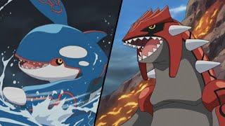 Groudon and Kyogre! | Pokémon: Advanced Battle | Official Clip