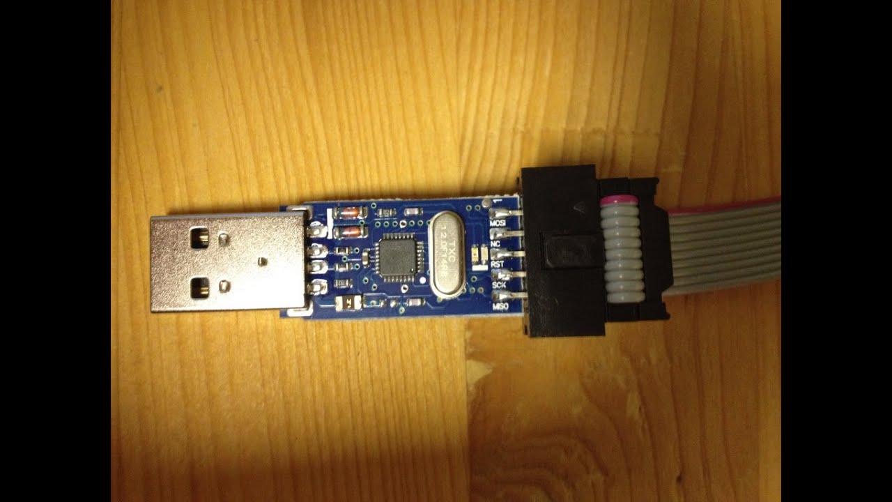 Usbasp Adapter In Avr Studio Einbinden Und Installieren Isp Usb Programmer For Atmel Controllers