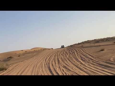 Dubai Balloon clients delivery to breakfast desert camp after landing in Margham desert.