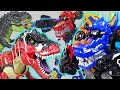 Dinosaurs Devil Attack! Lion Guard, Pororo are dangerous! Go! DinoCore Team! - DuDuPopTOY