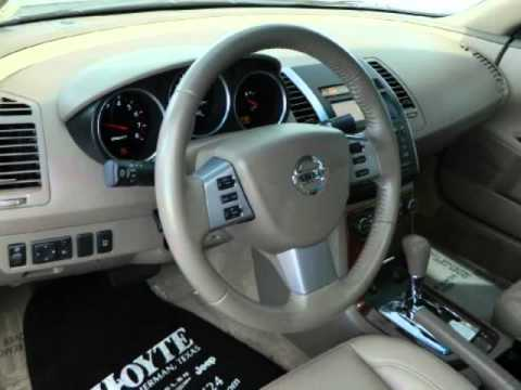 2008 Nissan Maxima 3 5 Sl Sunroof Leather Youtube
