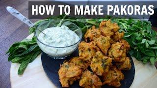 How to make Pakora | Onion Bhaji | Indian Cooking Recipes | Ramadan Recipes | Cook with Anisa
