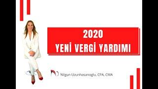 2020 YENİ VERGİ YARDIMI (NEW TAX CREDIT)