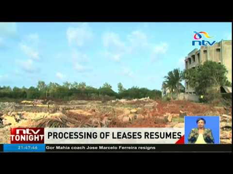 Government gazettes new guidelines for land leases, lifts moratorium