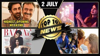 Sanju BLOCKBUSTER, Rishi Kapoor's Proud Moment, Priyanka Nick PDA, SRK Vacation | Top 10 News
