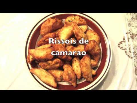 Portuguese Cuisine: Rissois de camarao (shrimp rissoles)